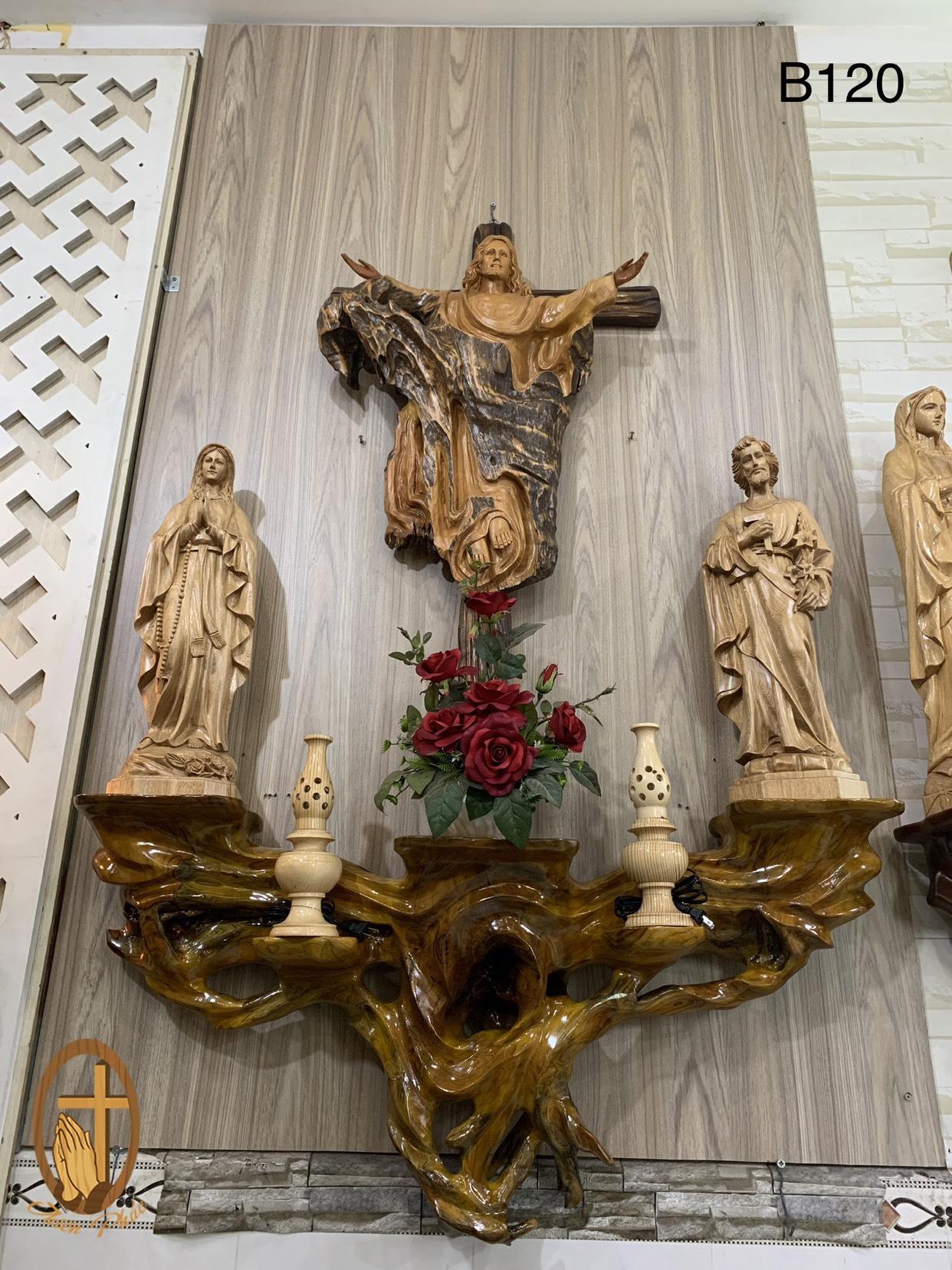 Bô Bàn Thờ Công Giáo BT120