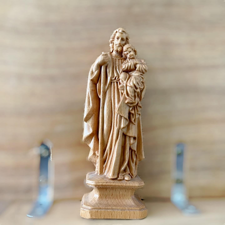 #01 Tượng Thánh Giuse bế Chúa Hài Đồng
