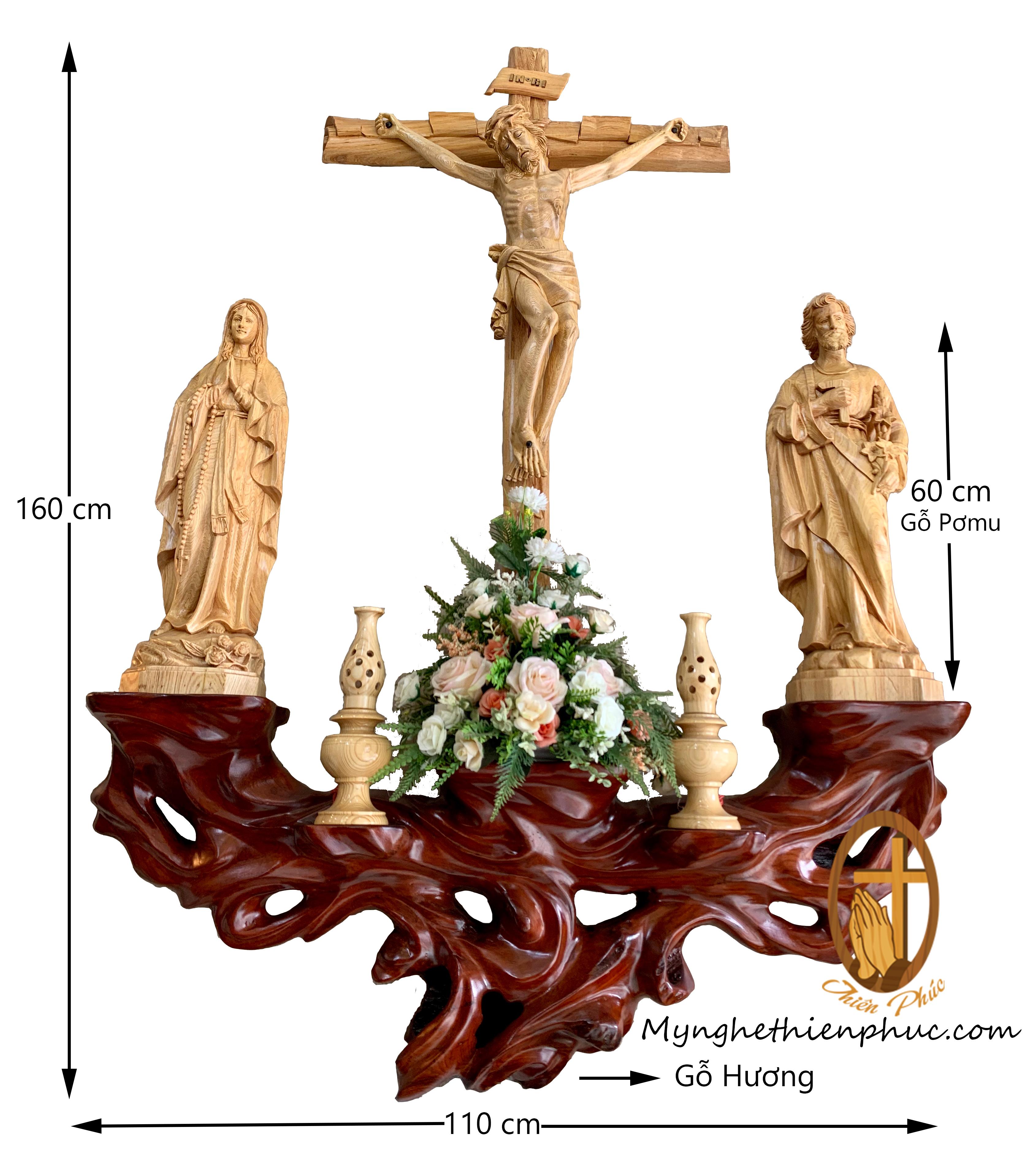 Bộ bàn thờ côn giáo BT10