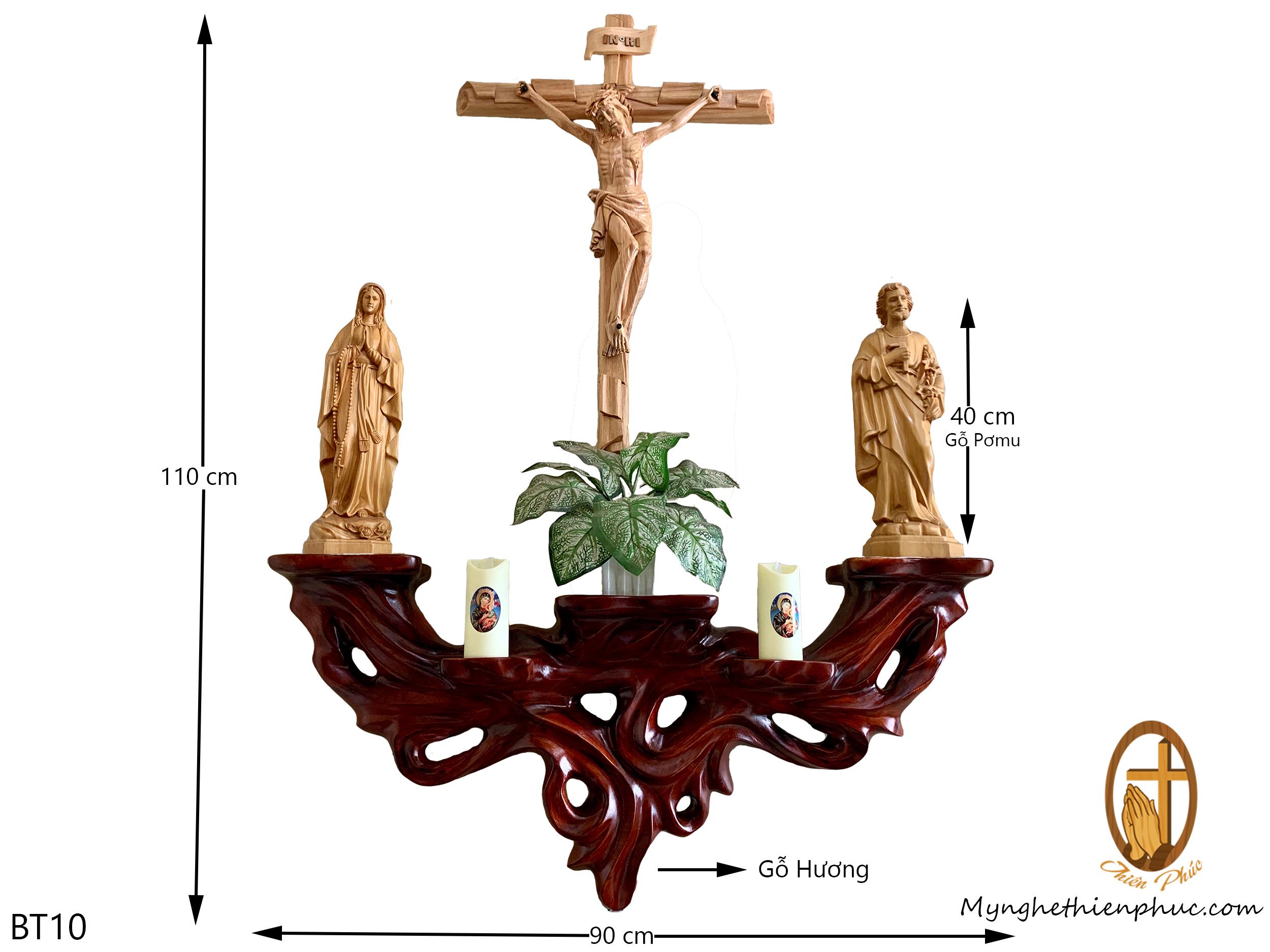Bộ bàn thờ công giáo BT40