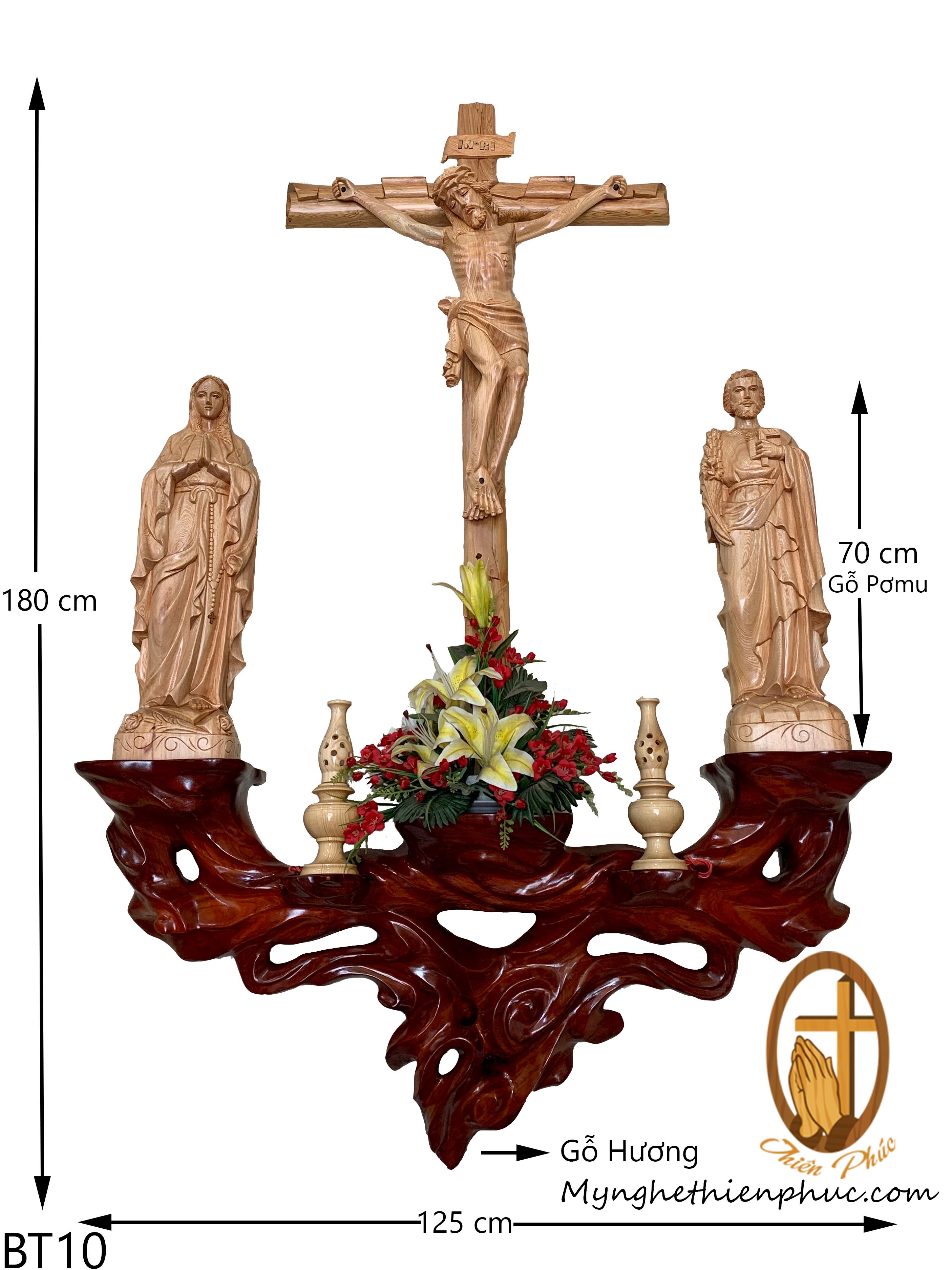 Bộ bàn thờ công giáo BT70