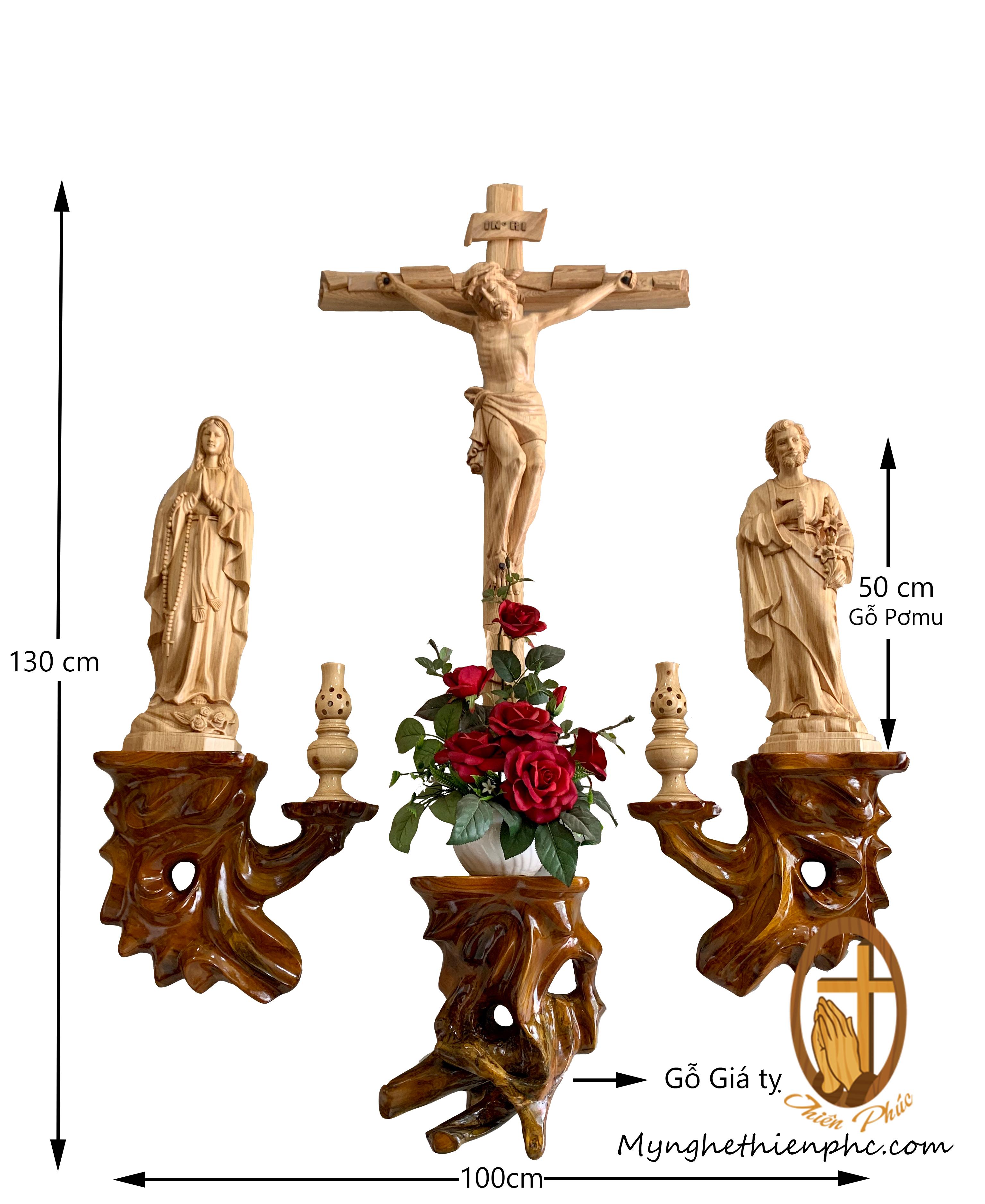 Bộ bàn thờ công giáo DT101