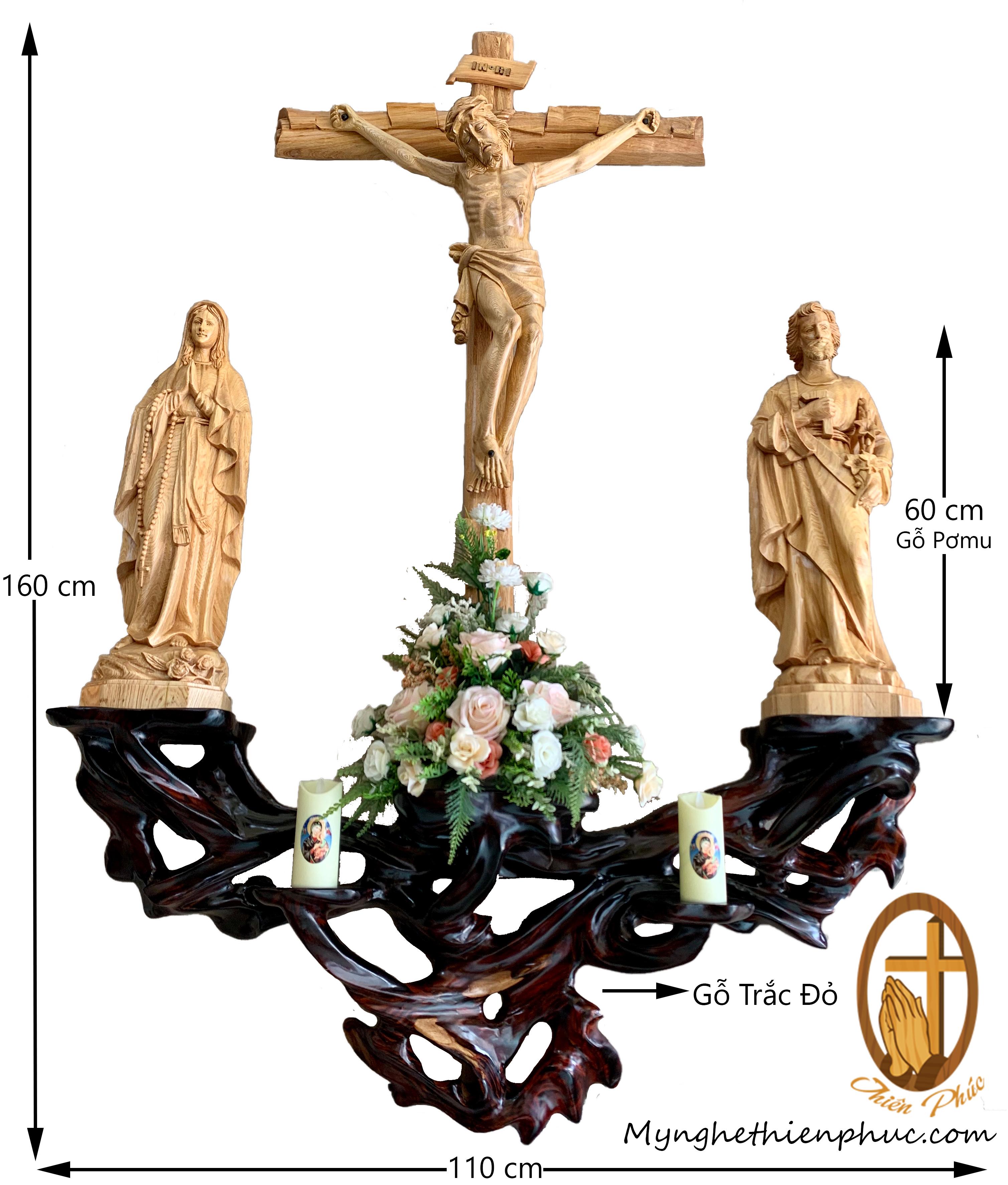 Bộ bàn thờ công giáo BT11