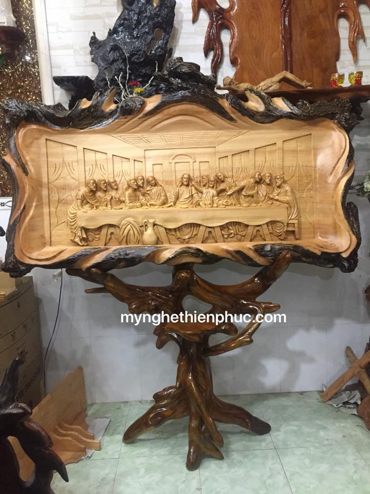Tranh gỗ tiệc ly (12 tông đồ)