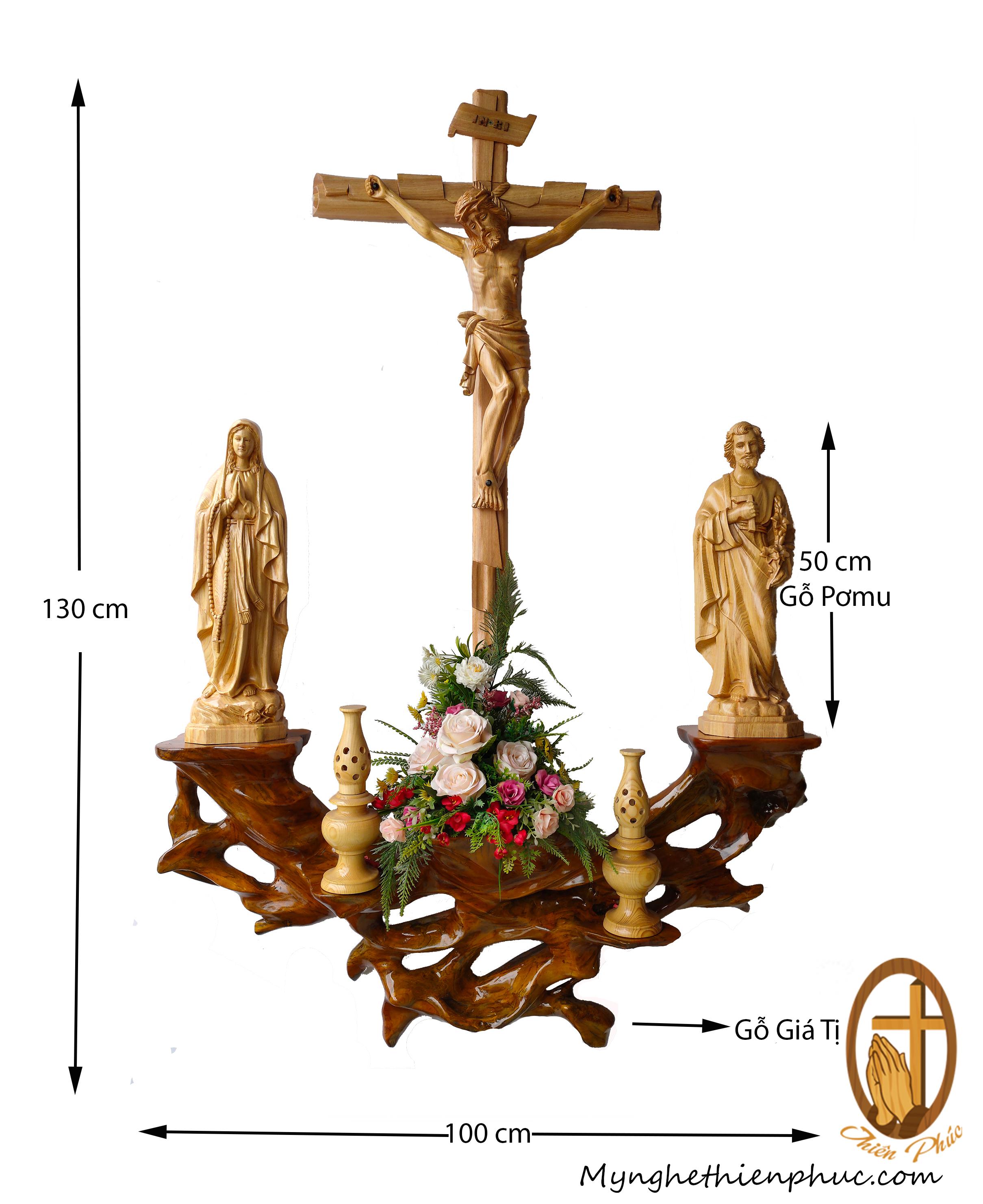 Bộ bàn Thờ Công Giáo BT20