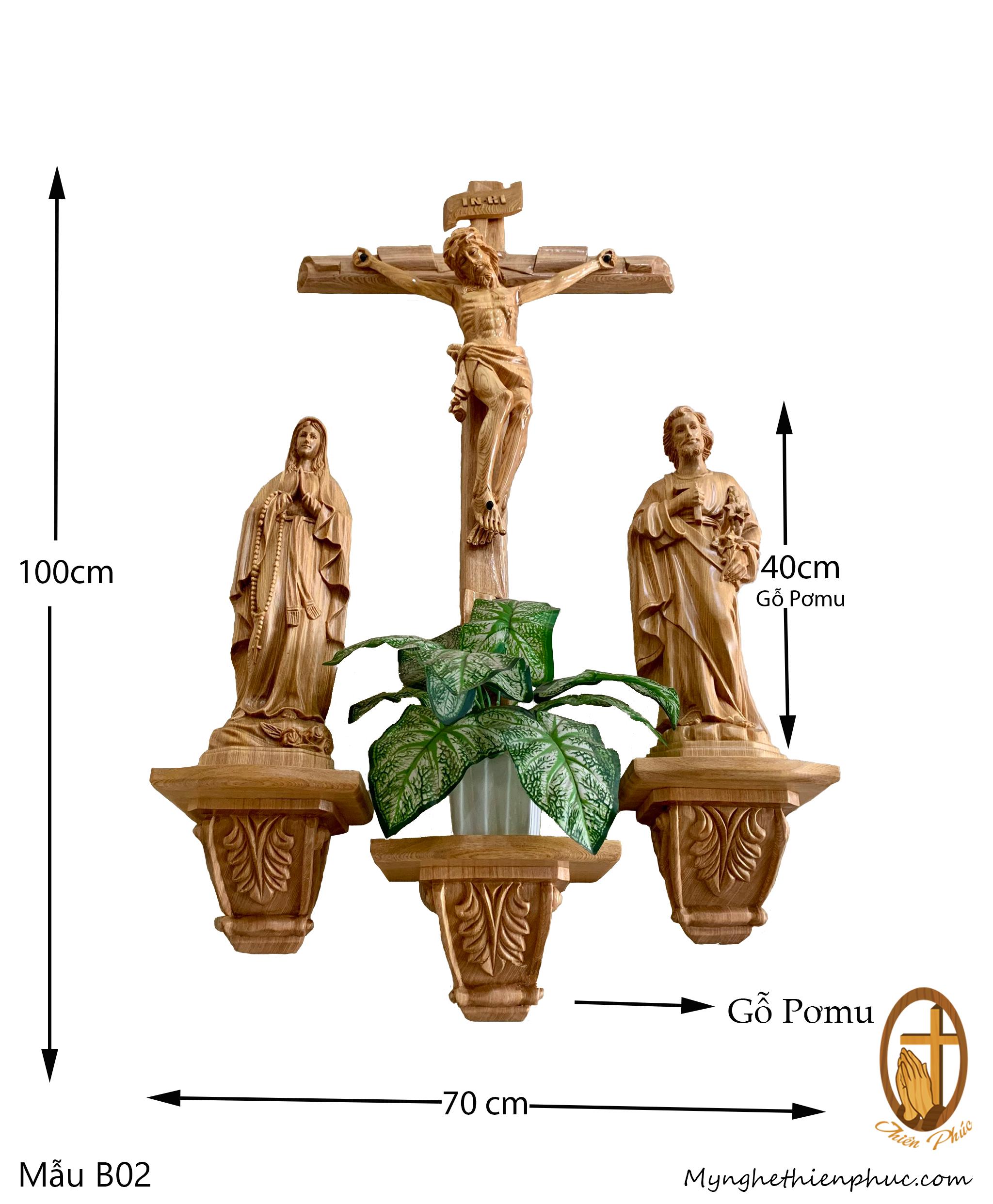 Bộ Bàn Thờ Công Giáo B02