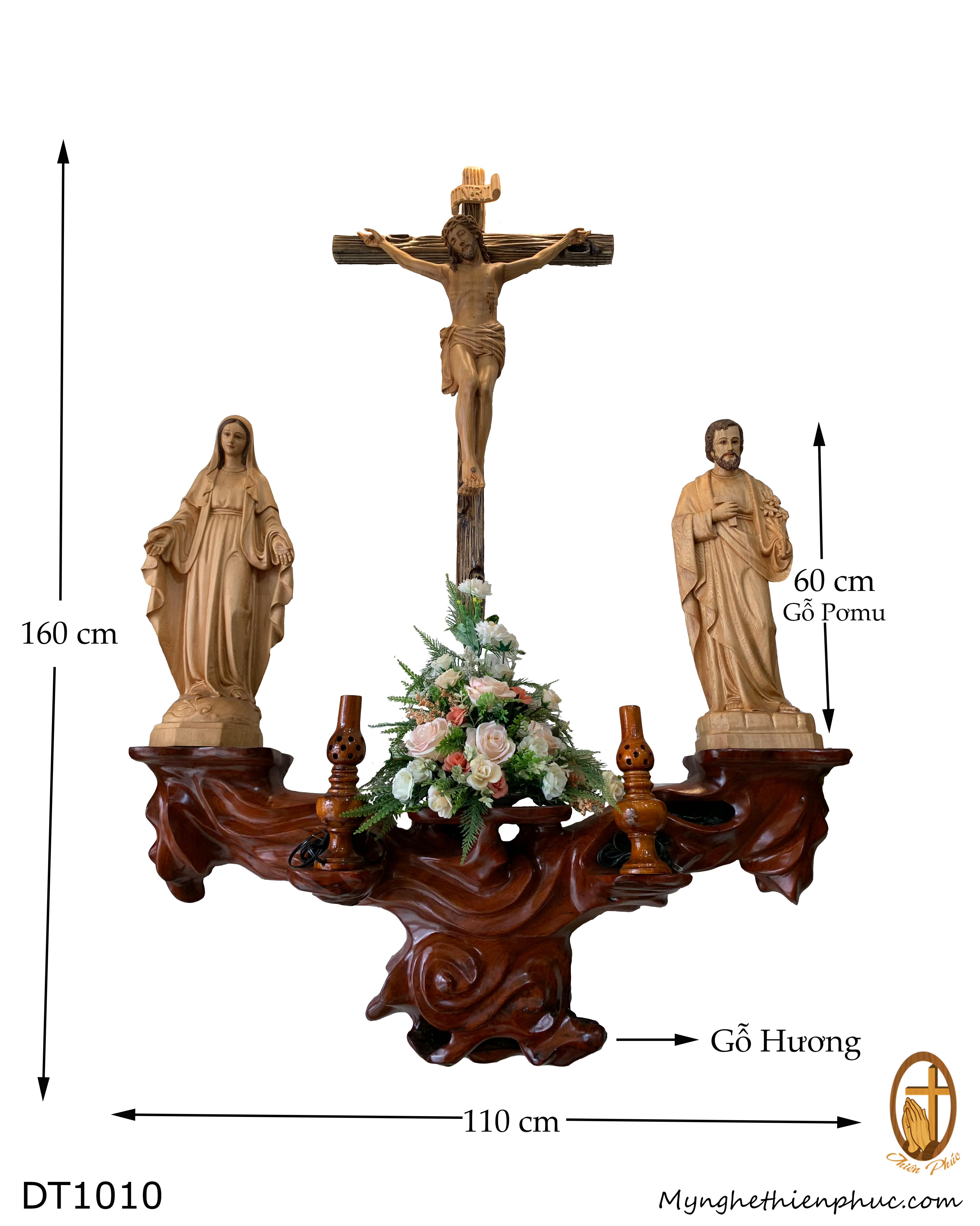 Bộ bàn Thờ Công Giáo BT1010