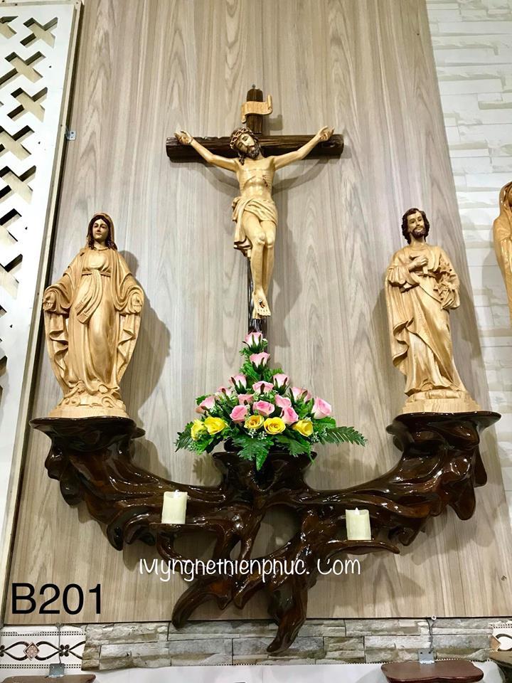 Bàn thờ công giáo B201