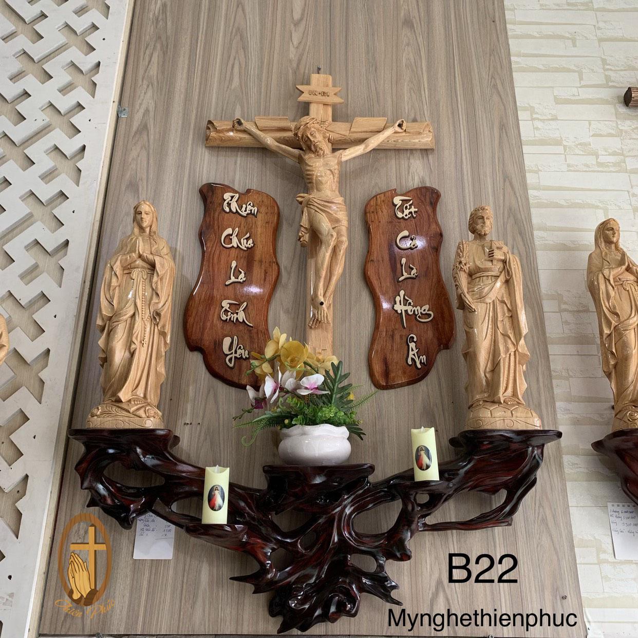 Bô Bàn Thờ Công Giáo B22