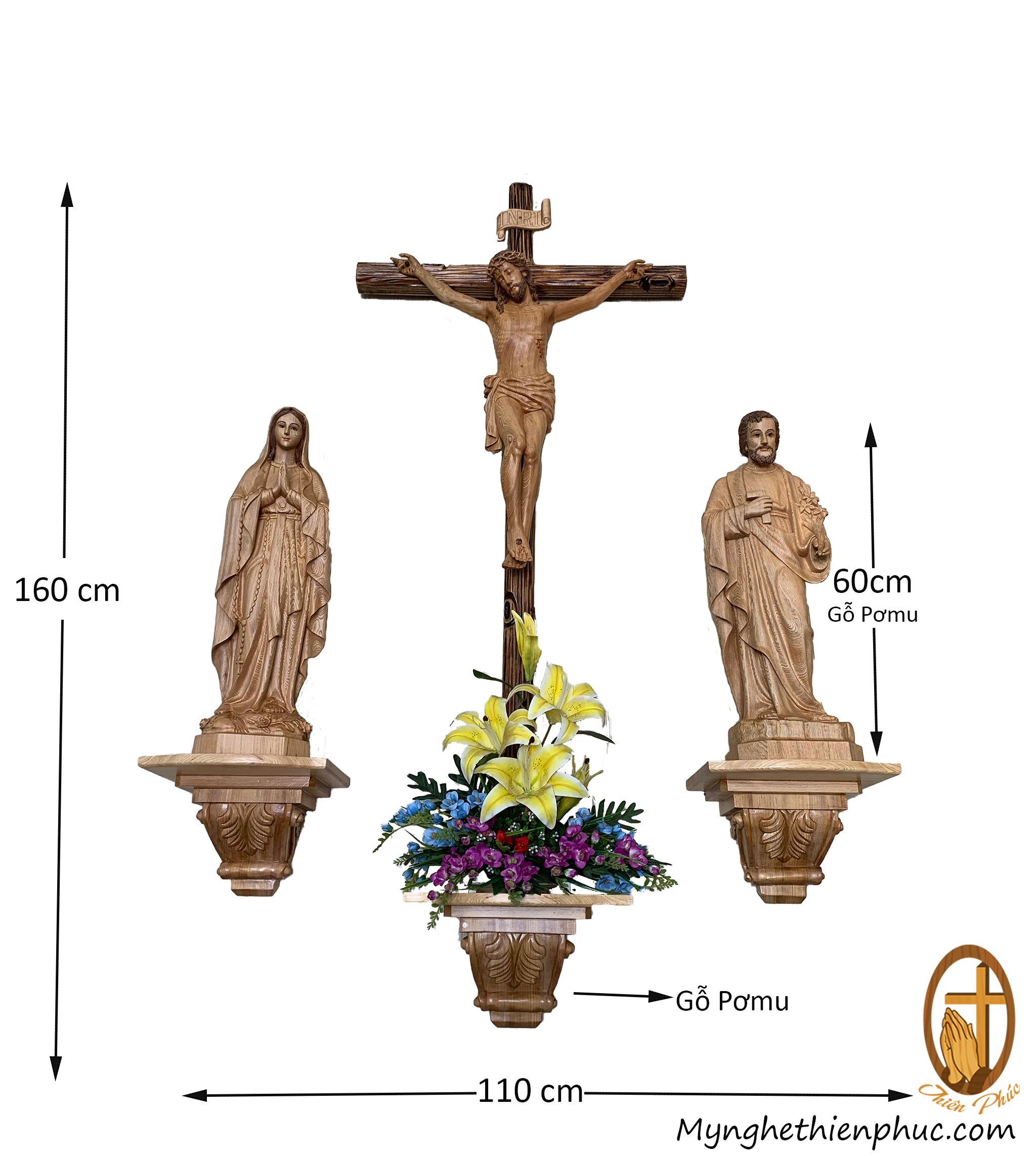 Bộ bàn Thờ Công Giáo BT1002